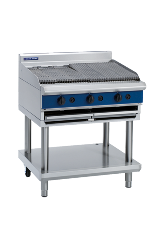 Picture of Blue Seal 900mm Gas Chargrill Leg Stand