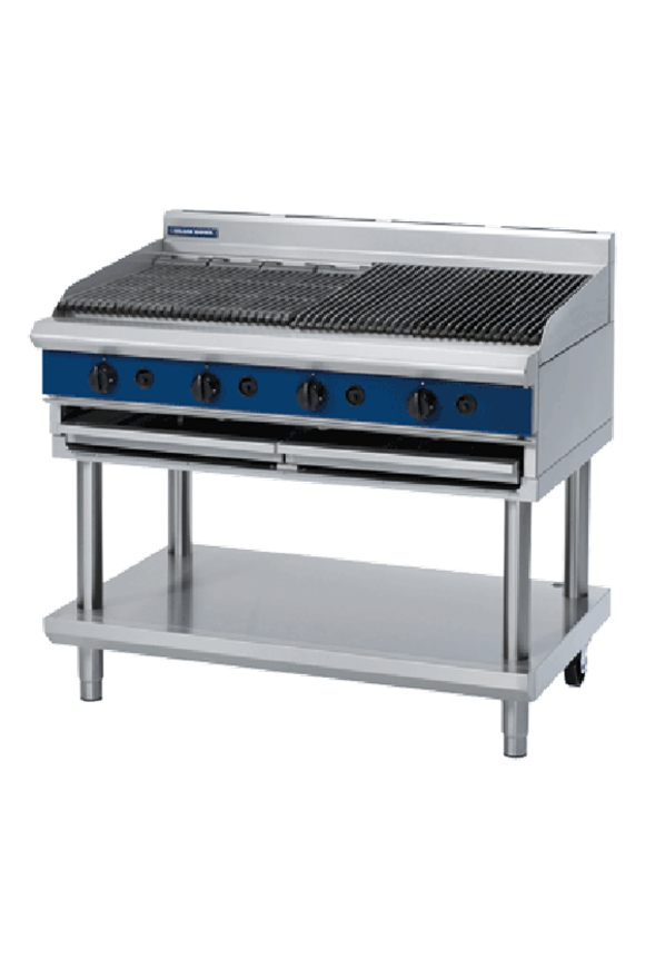 Picture of Blue Seal 1200mm Gas Chargrill Leg Stand