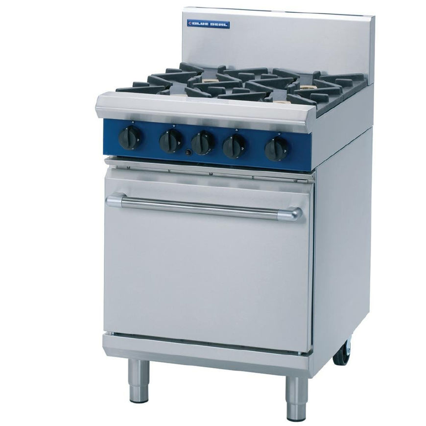 Picture of Blue Seal 4 Burner Gas Oven