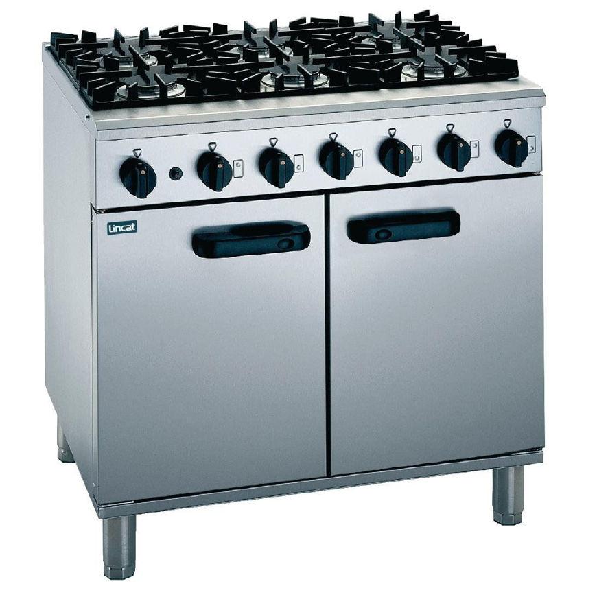 Picture of Lincat 6 Burner Gas Oven