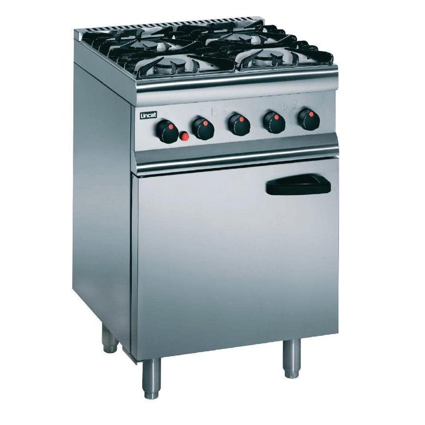 Picture of Lincat 4 Burner Gas Oven