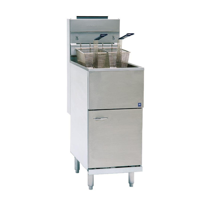 Picture of Pitco Single Tank 2 Basket Fryer (Gas)