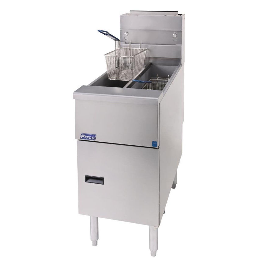 Picture of Pitco Twin Tank Fryer (Gas)