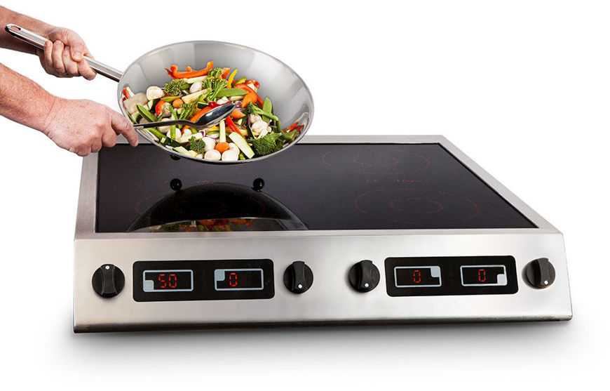 Picture of Induced Energy 4 Zone Induction Hob