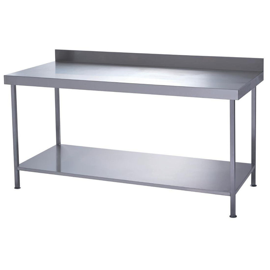 Picture of Stainless Steel Wall Bench