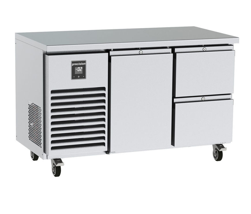 Picture of Precision 2 Section Counter Fridge